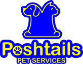 Dog Walking Bristol Poshtails Logo